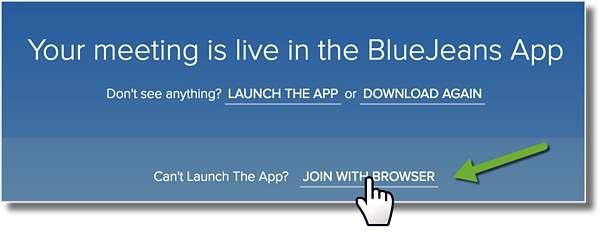 how to use bluejeans for video conferencing