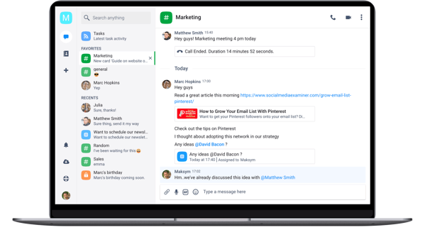 Chanty Best Team Collaboration Apps