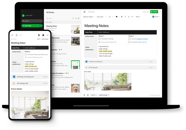 Evernote Best Team Collaboration Apps
