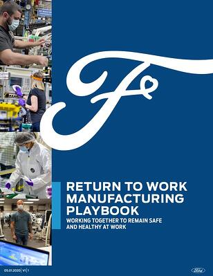 Ford Return To Work Manufacturing Playbook