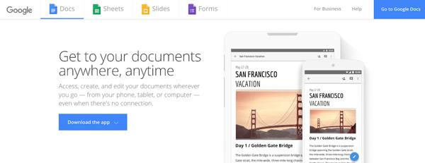 Google Docs Best Team Collaboration Apps