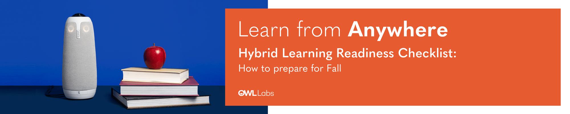 Hybrid Learning Checklist LP 1
