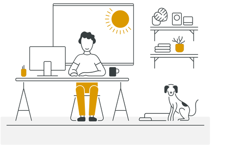 Owl Labs 2019 State of Remote Work report found that employees choose remote work for work-life balance. Better work-life balance is a factor for 91% of remote workers in their decision to work remotely.