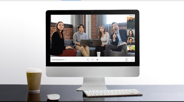 google meet video meeting app