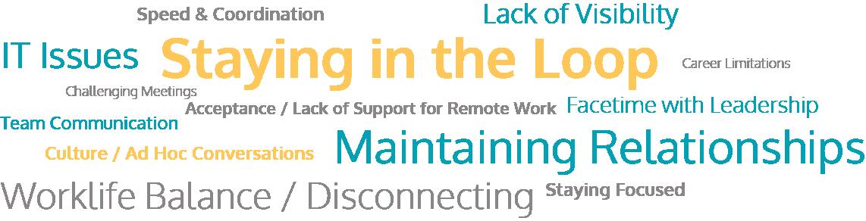 Remote Workers Biggest Challenges